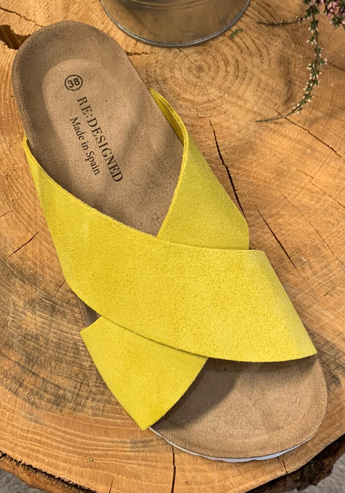 ReDesigned - Nala Sandal - Yellow