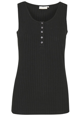 Kaffe - Katrudy Tank Top - Black deep