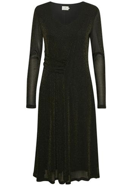 Kaffe - Karakel Dress - Black Deep/Gold