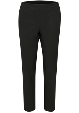 Kaffe - Kadaya Tape Pants 7/8 - Black Deep