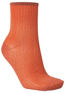 Beck Söndergaard - Dina Glitz Sock - Russet Orange