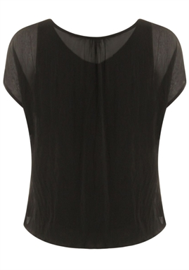 Coster Copenhagen - Top With Volume at Body - Black