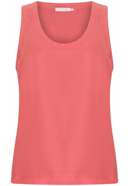 Coster Copenhagen - Strap top with jersey back - Puffy Pink