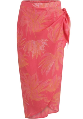 Coster Copenhagen - Skirt in hyper tropic print - Puffy Pink