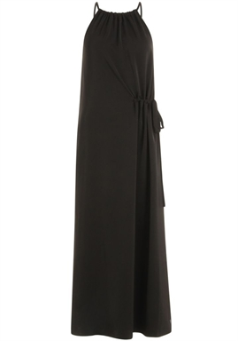 Coster Copenhagen - Dress with drawstring in the side - Black