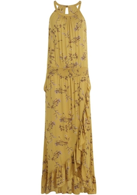 Coster Copenhagen - Dress in Valley Print - Valley Print Gold Spice