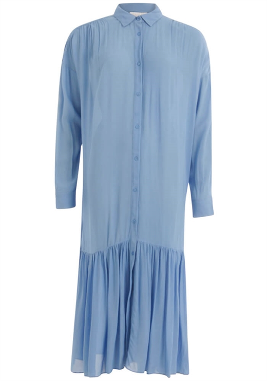 Coster Copenhagen - Dress With Long Sleeves - Airy Blue