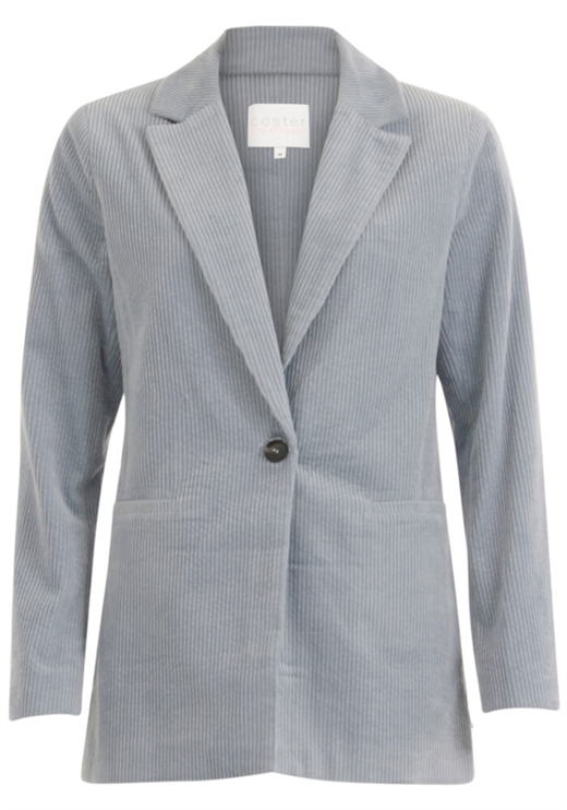 Coster Copenhagen - Suit Jacket in Corduroy - Shadow Blue