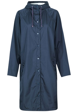 Beck Söndergaard - Solid Magpie Raincoat - Navy Blue