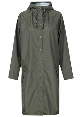 Beck Söndergaard - Solid Magpie Raincoat - Army Green