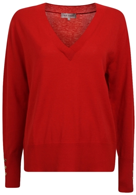Six Ámes - Ambre Sweater - Jester Red
