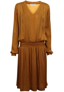 Six Ámes - Freya Dress - Buckthorn Brown