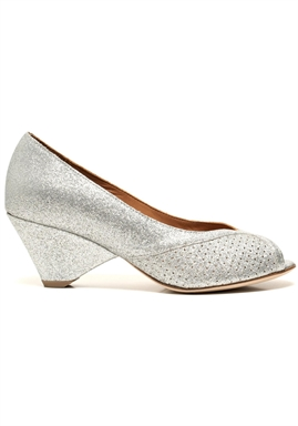 Anonymous Copenhagen - Tiffany Shoes - Fine Glitter Silver