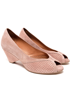 Anonymous Copenhagen - Tiffany Shoes - Suede Burned Rose