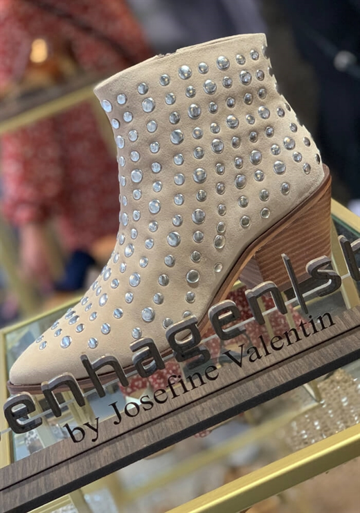 Copenhagen Shoes By Josefine - Clarissa Boots - Beige