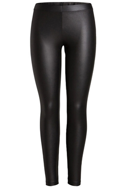 PIECES - PCNEW SHINY LEGGINGS NOOS - BLACK
