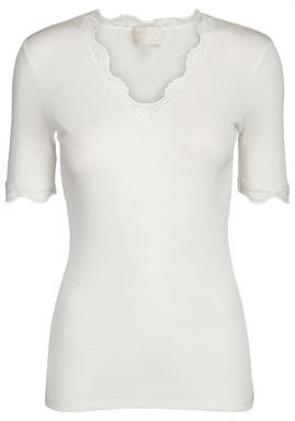 Minus - Ariel Short Sleeve Top - Broken White