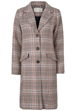 Modström - Yvette Long Jacket - Pink Check