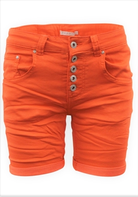 Place du Jour - Shorts - Orange