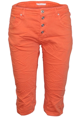 Place du Jour - Lange Shorts - Orange