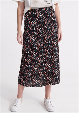 Superdry - Canyon Midi Skirt - Abstrackt