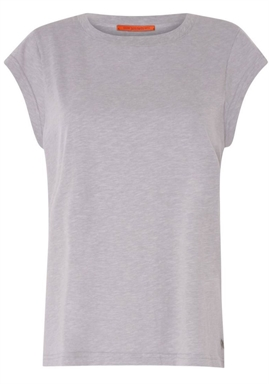 Coster Copenhagen - Basic Tee - Light Grey Melange
