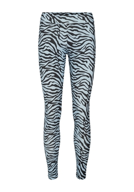 Libertè - Ninni Leggings - Light Blue Zebra
