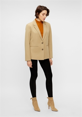 Y.A.S - YASOLIVIA OVERSIZED BLAZER - Light Taupe