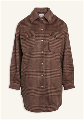 Love & Divine - Jackets - love470 - Dusty Brown Checks