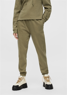 PIECES - PCCHILLI HW SWEAT PANTS - MARTINI OLIVE