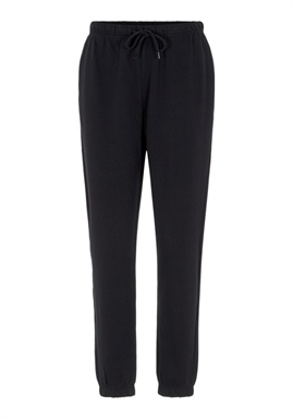 FORUDBESTILLINGEN - PIECES - PCCHILLI HW SWEAT PANTS - BLACK (MIDT DECEMBER)