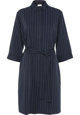 NORR - Ellis shirt dress - Navy