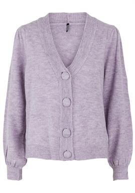 PIECES - PCDINA LS KNIT CARDIGAN - Orchid Bloom