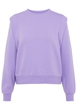 PIECES - PCTVIGGA LS SWEAT - Dahlia Purple