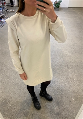 PIECES - PCNIPPY LS LONG SWEAT - Fog