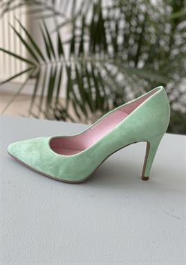 Copenhagen Shoes -  SKY Suede - By Josefine Valentin - Mint
