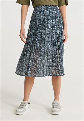 Superdry - Summer Pleated Skirt - Navy Ditsy