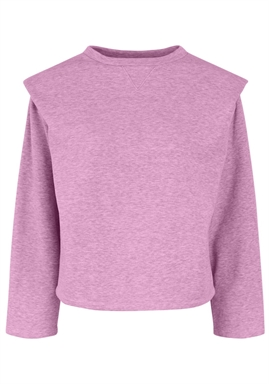 PIECES - PCJYTTA LS SWEAT -PASTEL LAVENDER