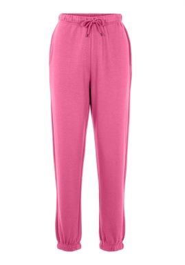 PIECES - PCCHILLI HW SWEAT PANTS - AZALEA PINK