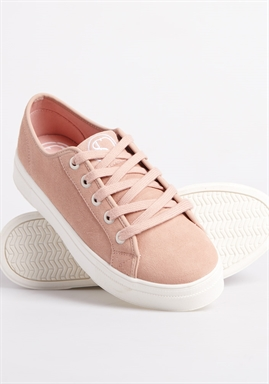 Superdry - Womens Flatform Sleek Trainer - Soft Pink