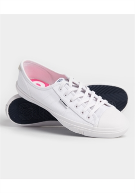 Superdry - Low Pro Sneaker - Optic White