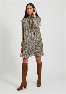 VILA - VIVENSA L/S DRESS
