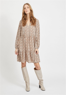 VILA - VIMINNIE L/S DRESS
