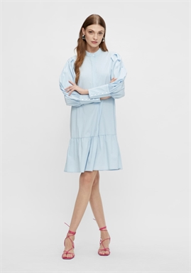 Y.A.S - YASMIGGER LS DRESS - Cashmere Blue