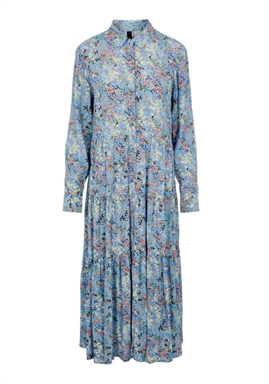 Y.A.S - YASSANTOS LS LONG SHIRT DRESS